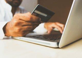 Nákupy přes internet, ilustrační foto