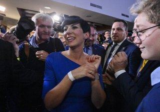 Markéta Pekarová Adamová po oznámení výsledků voleb