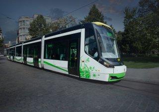 Vizualizace tramvaje Škody Transportation