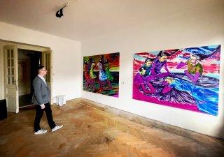 Výstava J&T Banka Art Index Pop-Up
