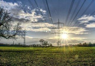 elektřina, elektrický stožár, energie