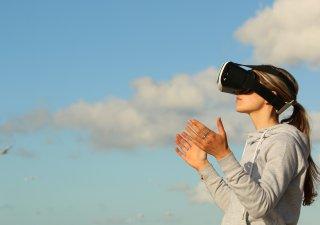 VR, ilustrační foto