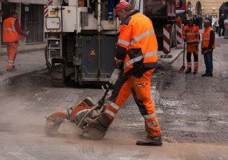 Dělník, ilustrační foto