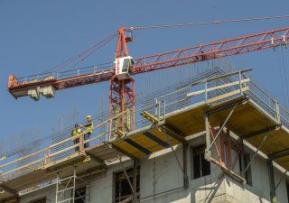 Bytová výstavba, ilustrační snímek