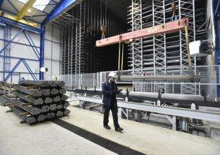 Tažírna oceli v Třineckých železárnách