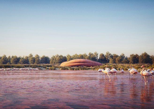 Čeští architekti v cizině. Autor kobek na pražské náplavce bodoval v Emirátech