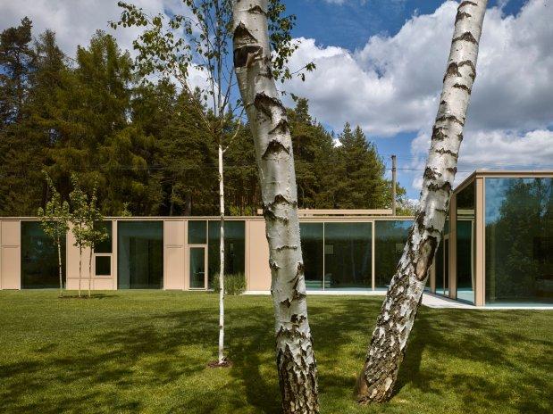 Minimalistický dům se uchází o architektonickou cenu