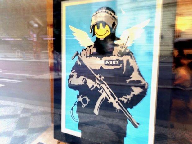 Galerie Kodl prodává Banksyho. Za miliony