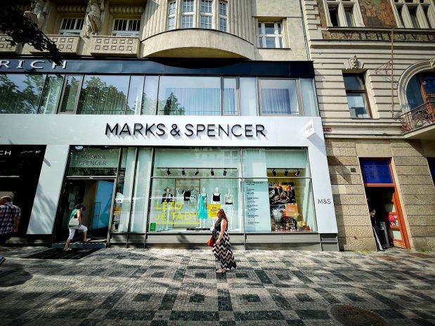 Český Marks & Spencer definitivně mění pobočky. Skončil s čerstvým zbožím