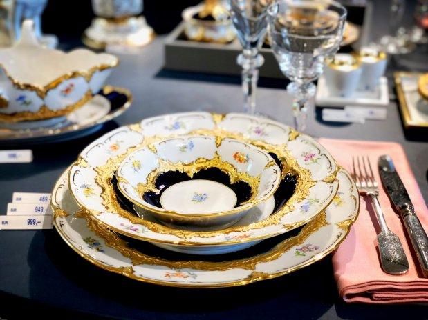 Desítky tisíc eur za talíř? Investice do Míšně mohou pomoci s inflací