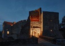 Hrad vznikl velmi pravděpodobně v poslední čtvrtině 13. století, založil ho slezský šlechtic Friduš (Fridrich) z Linavy.