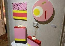 Všechna díla Venduly Chalánkové se na prodejní výstavě Pop up prodala.