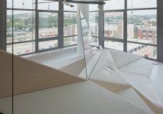 Přednostní bytu je bezpochyby výjimečný výhled na Zlín.