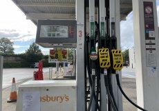 Tato čerpačka má benzín jen pro členy integrovaného záchraného systému