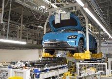 Nošovická továrna automobilky Hyundai produkuje až 1400 aut denně.