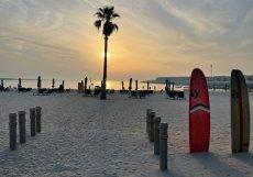 Na plážích v Dubaji se setkáte zejména s Francouzi a Rusy.
