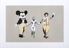 Banksyho obraz Napalm.