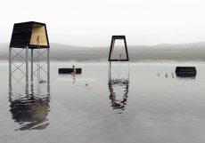 """Ty by měly být umístěny i na vodní hladině. Jezero Milada je mimochodem téměř tak velké jako """"Mácháč""""."""