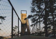 Po více jak sedmi letech od zahájení příprav byl dokončen vyhlídkový lesopark nad městem na vrchu Stráž