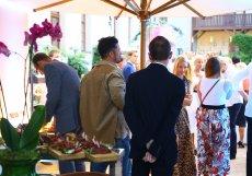 Na akci v hotelu Augustine dorazila i hollywoodská star Orlando Bloom.
