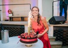 Garden party se konala i u příležitosti narozenin bývalé české vicemiss a moderátorky Evy Čerešňákové.