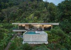 Studio Refuel works navrhlo architektonický koncept betonové vily.