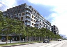 Chystaný projekt developera UDI Group v blízkosti Smíchovského nádraží v Praze 5.