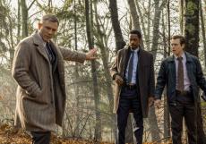 Daniel Craig (vlevo) si za pokračování filmu Na nože odnese 100 milionů dolarů.