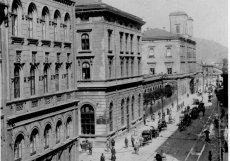 Masarykovo nádraží začalo fungovat v polovině 19. století.