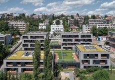 Kuba & Pilař Architekti: Čtyři domy v jednom, Neumannova ulice, Brno.