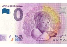 Sběratelským bankovkám s hodnotou 0 eur roste cena velmi rychle. Letos přibude Jiřina Bohdalová.