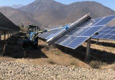 Solární elektrárny Soleku v Chile pod Andami
